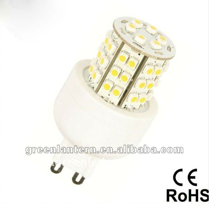 G9 led lamps 2012 hot sale high power 3w led corn light