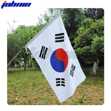 Wholesale high quality different kind of national Korea flag