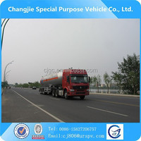 Customization-oriented semi truck trailer LPG gas transportation tanks for sale