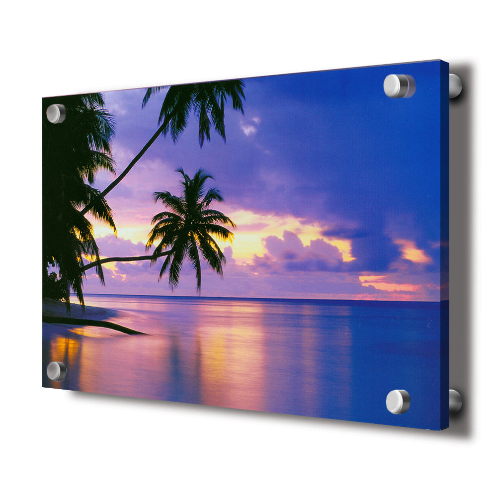 "Customized Transparent 12x16"", A3 UV Acrylic Photo Prints for Display and Advertising"