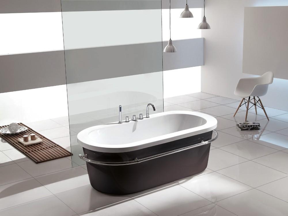 kleine freistehende badewanne das beste aus wohndesign. Black Bedroom Furniture Sets. Home Design Ideas