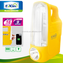 Multifunctional solar power rechargeable emergency light
