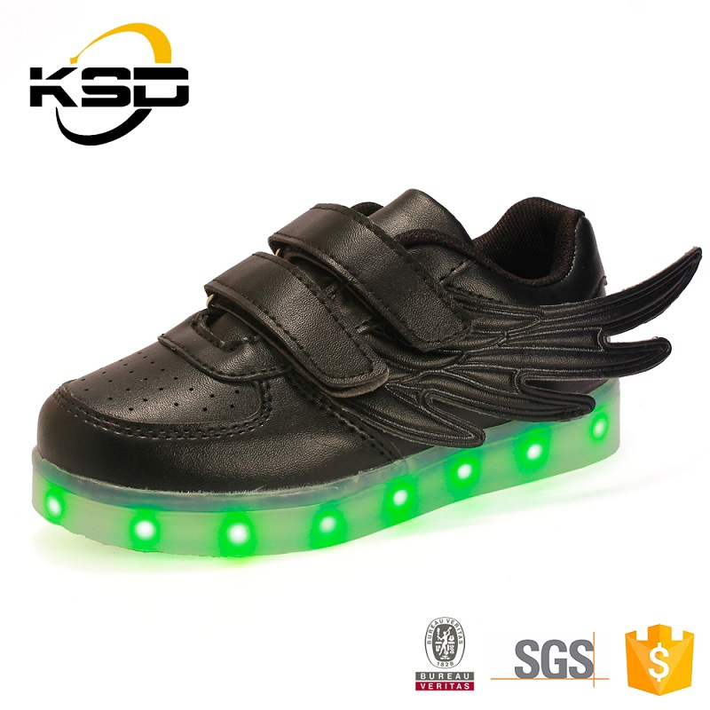 2016 LED Light Shoes 7 Color Changing rechargealle Light shoes LED Light Shoes