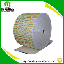 Food grade paper packaging raw tissue paper bagasse to paper