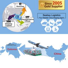 International freight forwarding shipping from china to estonia