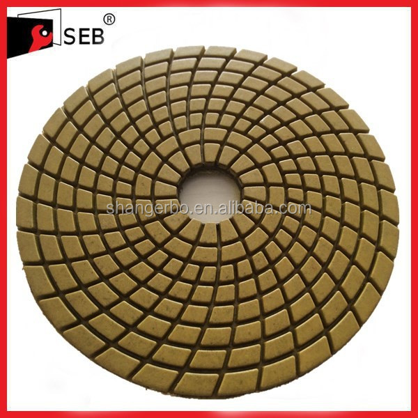 Wet marble polishing pads SEB-PP110646