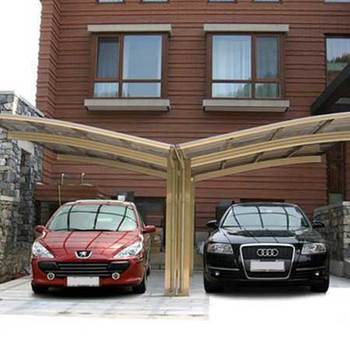 polycarbonate car shelter carport roofing sheet