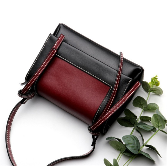 Latest Design genuine leather lady shoulder bag women bags_12