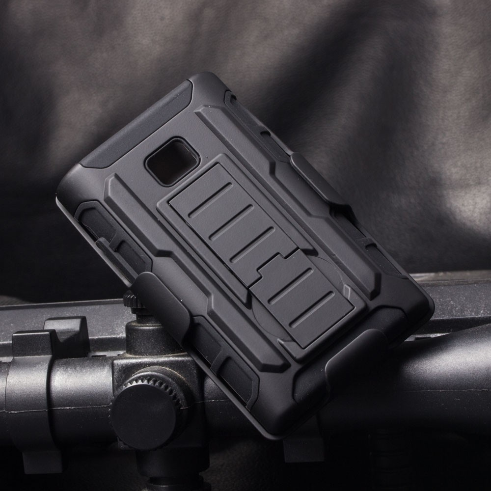 IN STOCK!!Future Armor Holster Rugged Hard Case + Belt Clip Holster Stand Cover For LG Optimus l3 e400 Phone Case