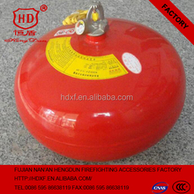 hanging powder fire extinguisher for automatic fire extinguishing system