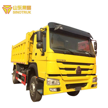 Latest China Made New Competitive used sinotruk howo dump truck price