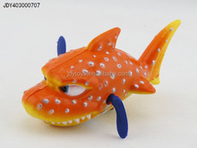 Hot Selling Kid Toy Mini Chain Fish Swimming Spots Wind Up Toy, New Design Wind Up Toy,Plastic Chain Clockwork Toy