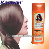 400ml Honey & egg anti-dandruff hair shampoo Vitamin e shampoo