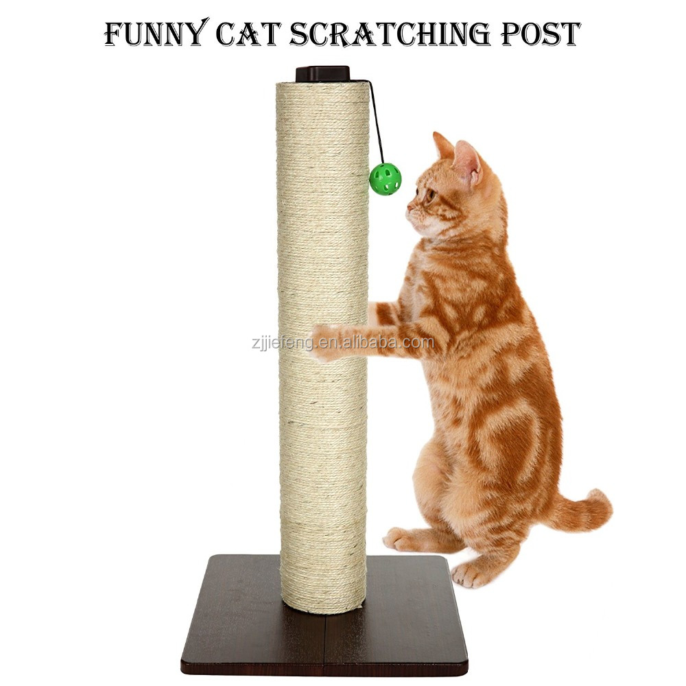 Cat Ultimate Scratching Post and Play Cat Scratcher