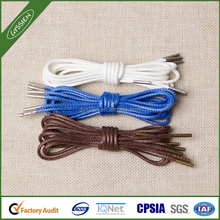 wax elastic shoelaces cheap sport shoe lace