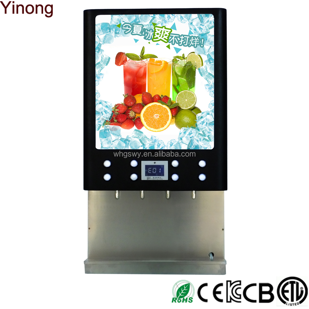 Beverage syrup vending machine for Chocolate/Strawberry/Coffee Syrup