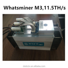 Miner Whatsminer M3 11.5TH/s Bitcoin Miner with PSU