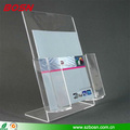 Manufactory customized free stand acrylic A4 perspex leaflet counter holder