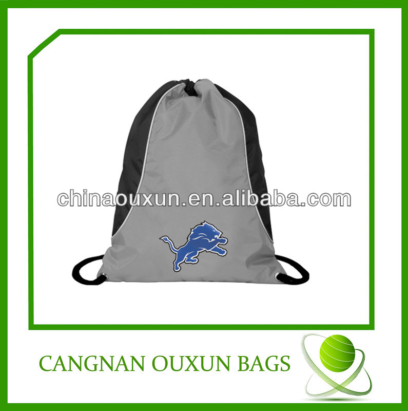 Hot sell new recycled pet drawstring bag