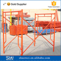 Shuowei Construction Mobile Steel Frame Scaffold,factory directly