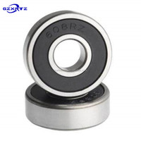 Factory Direct Price Deep Groove Ball Skateboard Bearings Top Selling Custom High Speed List 8*22*7mm Bearing 608
