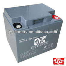 lead acid battery 12V 40AH for solar wind power UPS inverter