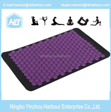 2017 acupressure massage mat Back Pain Relief thermal massage mat ceragem and Neck Pillow Set