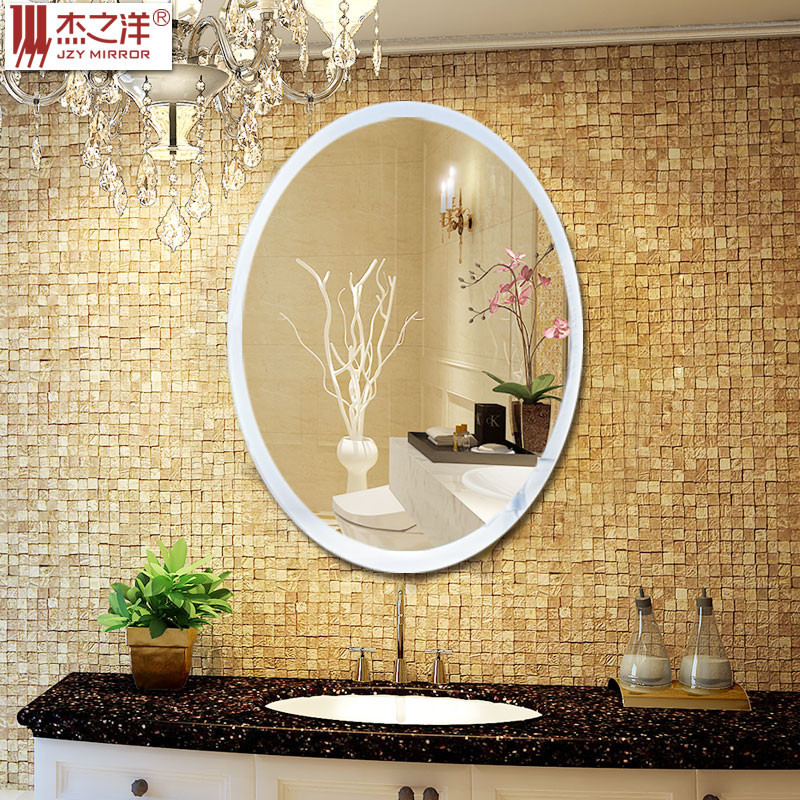 Round Cheap Decorative simple and elegant style Wall Mirror with metal frame