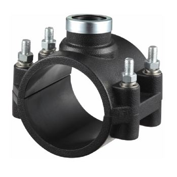 ERA Factory Supply New Material PP Pipe Fitting Saddle Clamp ,25MM-200MM