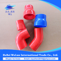 Top quality automotive silicone hose straight hose reducer elbow silicone hose