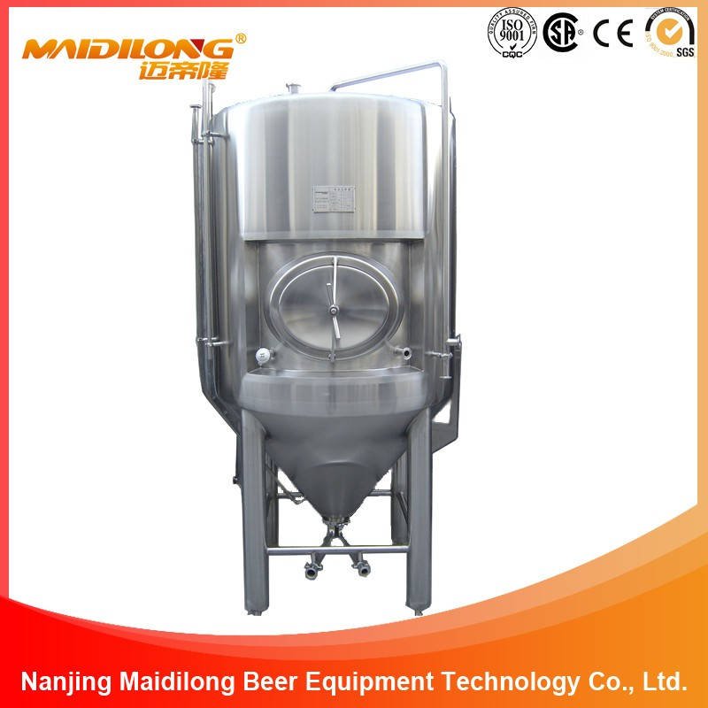 Large Beer Alcohol Fermentation Tank Equipment