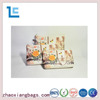 Zhaoxiang 2016 new design tower pattern set traveling cosmetic bag