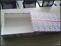 Shenzhen Factory Gift Usage Large Slim Light Color Printed Gift Boxes with Lids Box