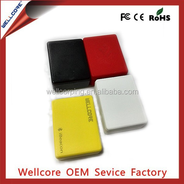 Welcome OEM Case and color and Logo , W901 ibeacon with Long battery life Cc2541 Bluetooth iBeacon Module