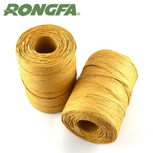 degradable colorful paper raffia string 100% kraft paper raffia wire