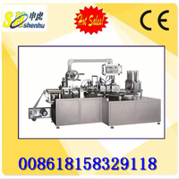 Battery blister packing machine Automatic blister card sealing machine Blister packaging machine