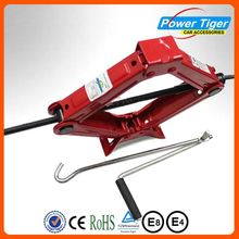 New Design Certifications Automotive hand operated jack