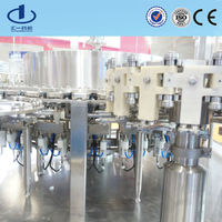 plastic bottle Nomarl saline washing filling sealing infusion packing equipment