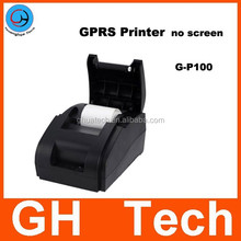 GH mini thermal printer GP100 portable printer can be used in hotel and restauant for gprs printer