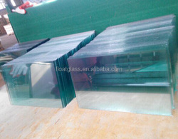 frameless square glass with hole