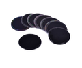 hot sale round shape pu gel sticky pad car cup holder car mats