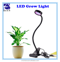 Hydroponic growing systems 8W full spectrum LED plant growth light