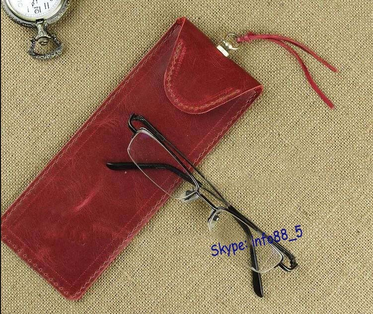 Spectacle sunglasses case / most popular design eyeglass cases / leather supplier case eyewear