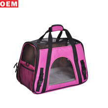Wholesale Best Quality Travel Pink Dog Bag Pet Carrier For Outside