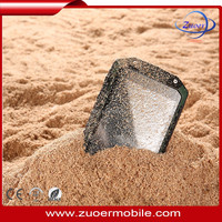 MTK6572 Dual Core 1.2GHz Waterproof Shockproof Dust-proof phone , china mobile phone android note