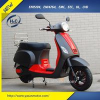 China cheap 2000W 60V electric motorcycle 2016 vespa style for adults