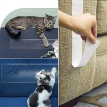 Cat Scratch Deterrent Tape Double Sided Sticky Anti-Scratch Cat Training Tape Save Your Furniture