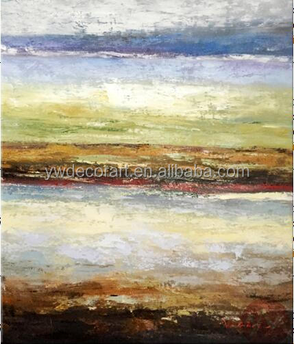 Yiwu Wholesale High Quality Handmade Modern Wall Art Decorative Abstract Oil Painting Canvas