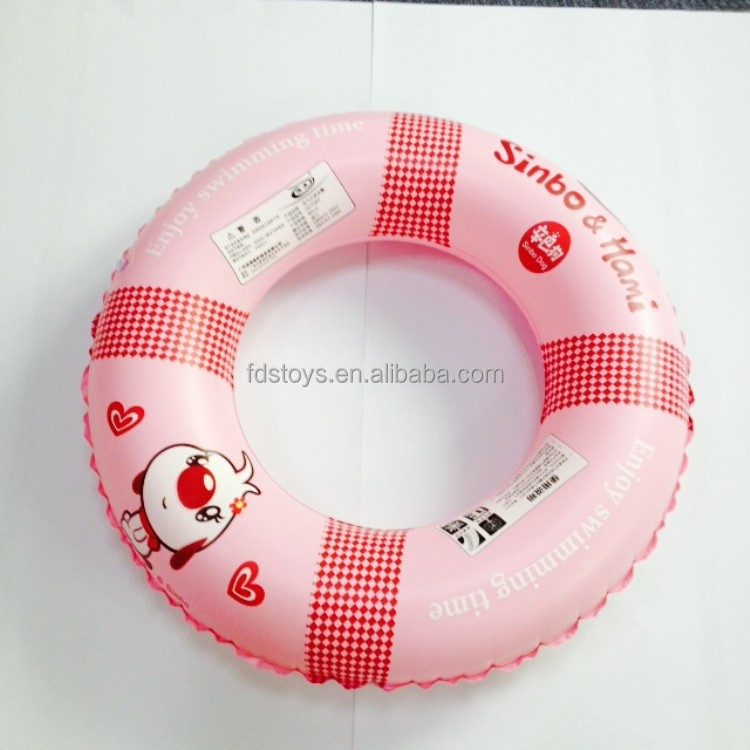 Inflatable ring for swimming, round inflatable tube for swimming