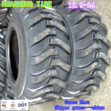 Bias Industrial tractor tires 16.9-24 tubeless tire for sale